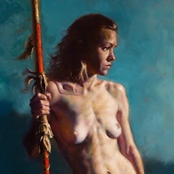 McComas, Jim - Woman with a Spear