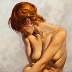 McComas-Jim-Birth-of-Venus-2012-Oil-on-Linen-32-x-26