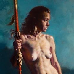 McComas_Jim_Woman_with_a_Spear_KS-2526