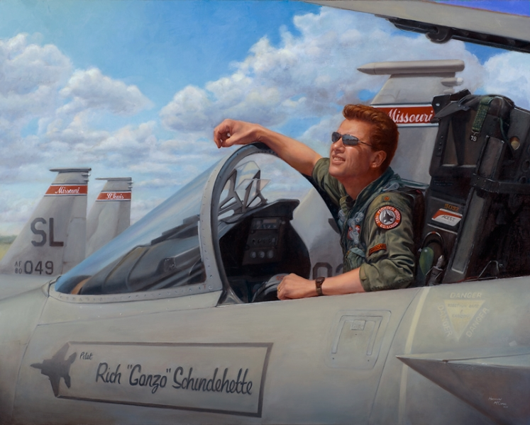 McComas_Jim_Gonzo_Portrait_of_a_Fighter_Pilot_KS-8001